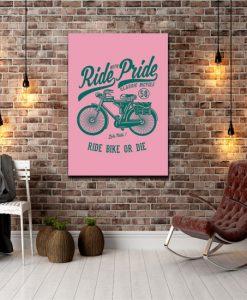 dekoracje z rowerem
