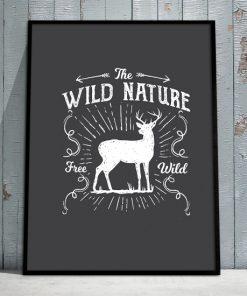 plakaty z przyrodą