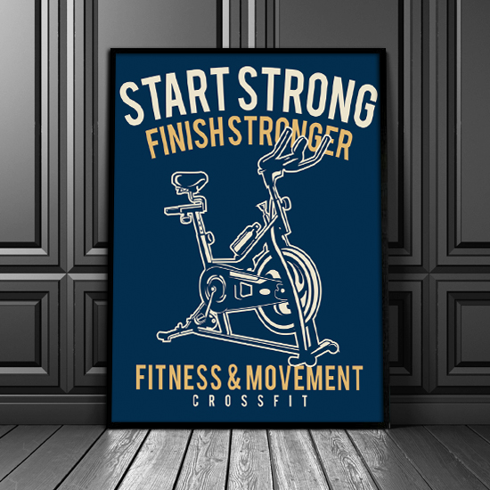 Plakat Fitness