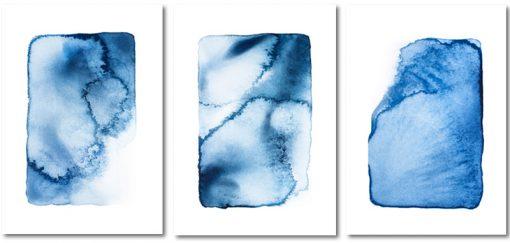 plakaty z wodną abstrakcją