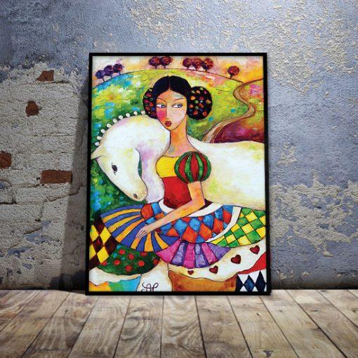 nowoczesne kolorowe plakaty