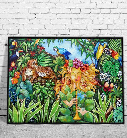 malarstwo olejne Anny Wach na plakatach