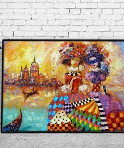 nowoczesne dekoracje do sallonu