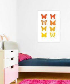 ozdoby z motylkami