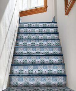 naklejka na schody marokańska