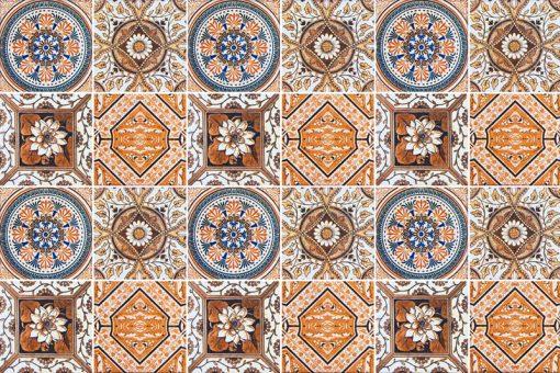 naklejki na kafelki w stylu maroko