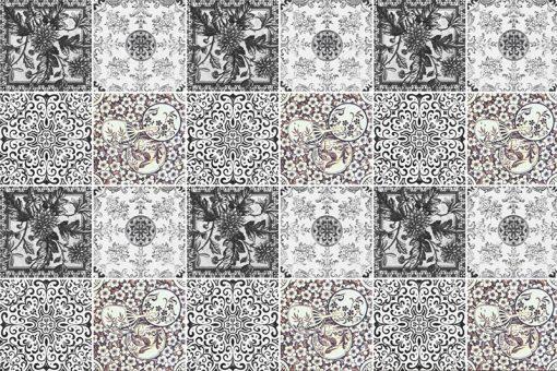 marokańskie wzory na kafelki i płytki