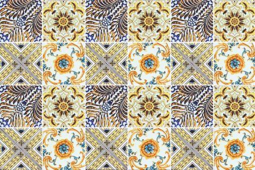naklejki w stylu marokańskim do łazienki lub kuchni