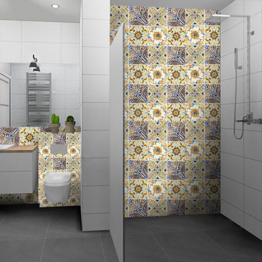 naklejki na kafelki do łazienki - Azulejo
