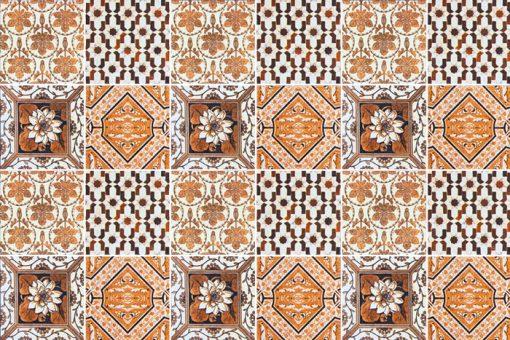 marokańskie naklejki dekoracyjne na kafelki