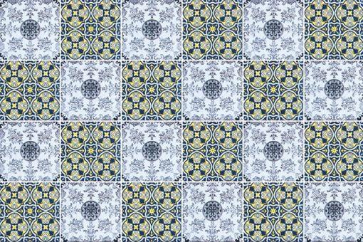 wzory w stylu marokańskie - naklejki na kafelki