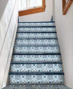 naklejki pod schody z motywem marokańskim