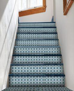 naklejki Azulejo na schody