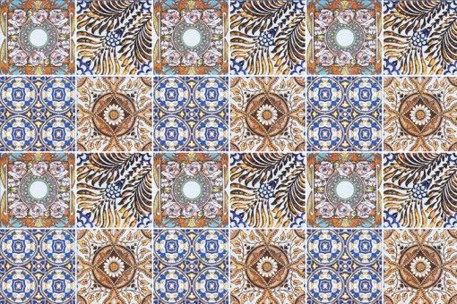 piękne marokańskie naklejki na płytki lub kafelki