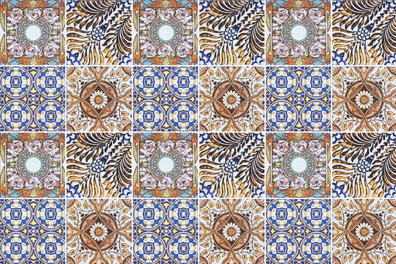 Naklejki W Stylu Maroko Na Kafelki Oraz Płytki