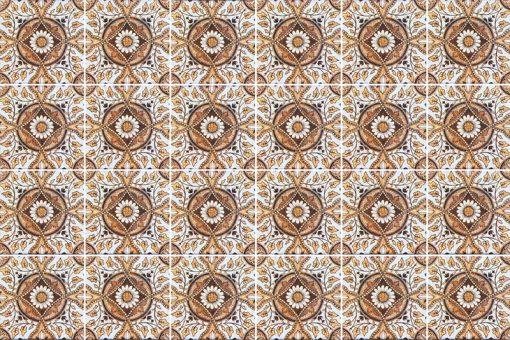 nowoczesne marokańskie naklejki na płytki