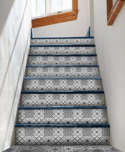 naklejki pod schody w marokańskim stylu