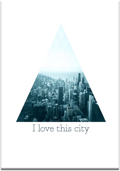 plakaty z miastem