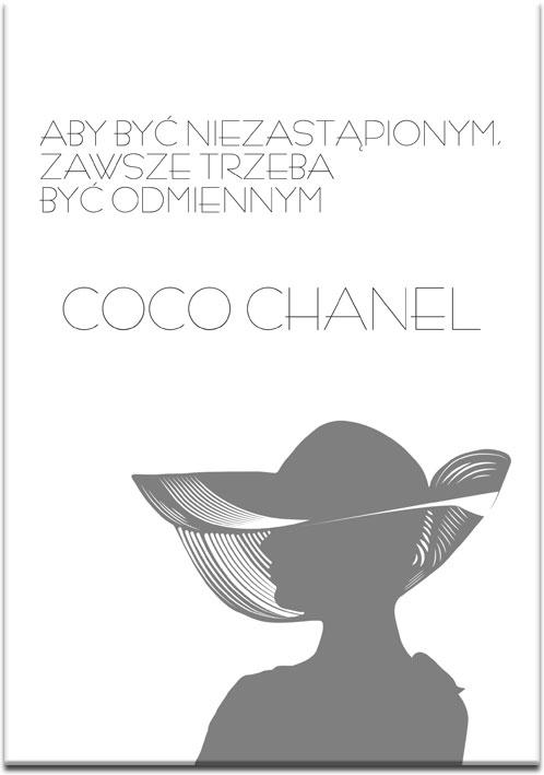 plakaty coco chanel