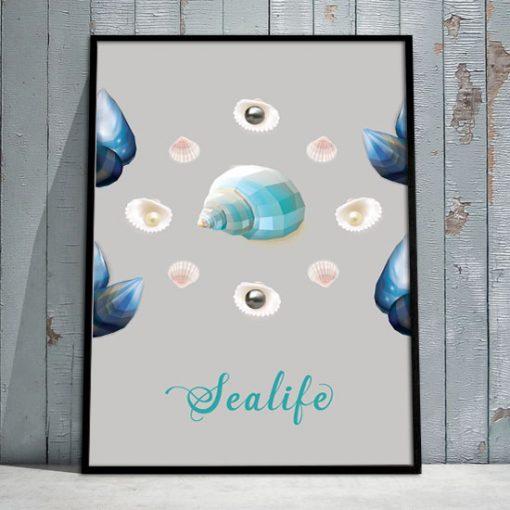 plakaty o morzu