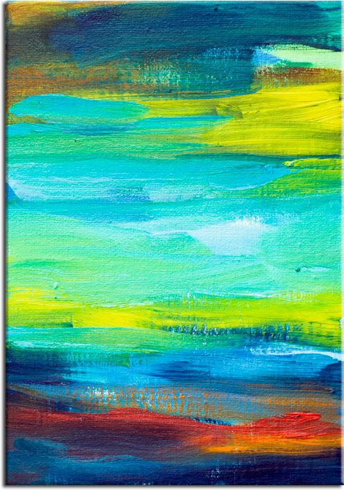 plakaty z abstrakcją