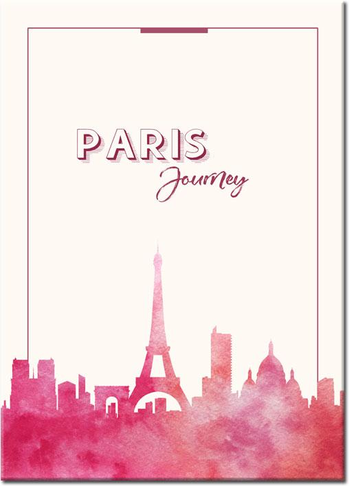 Plakat Podróż Do Paryża