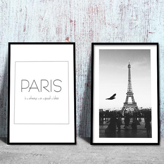 Plakat Podwójny Paris Is Always A Good Idea