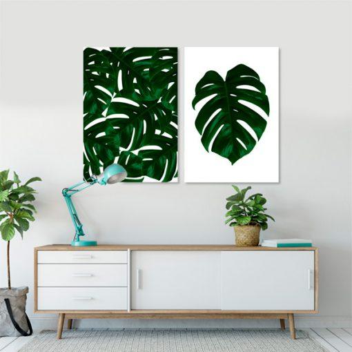 ozdoby z roślinami