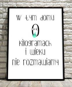 plakaty o kilogramach