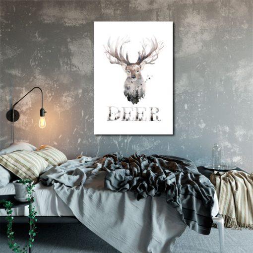 dekoracje z jeleniem