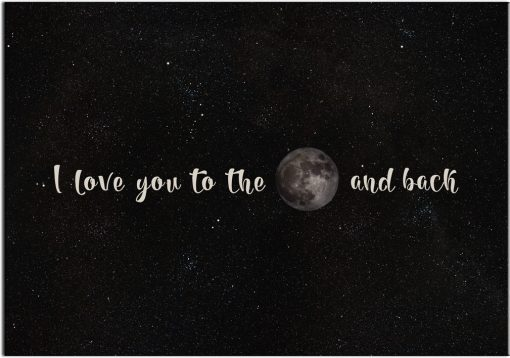 plakaty z księżycem