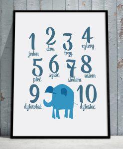 plakaty ze słoniem