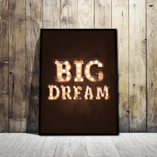 plakaty o marzeniach