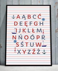 liternictwo na plakacie