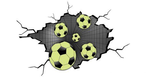 naklejki z piłkami