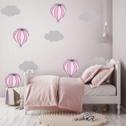 naklejki z balonami