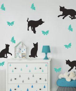 dekoracje z kotkami