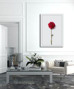 plakaty z kwiatkiem