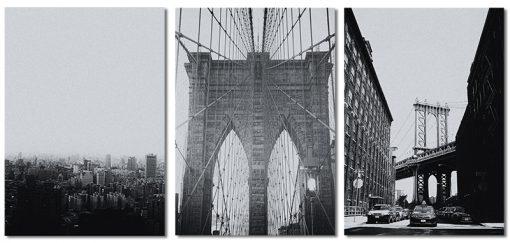 plakaty tryptyki z NY