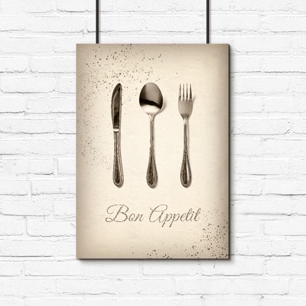 Plakat Bon Appetit