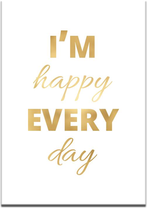 złote napisy o szczęściu