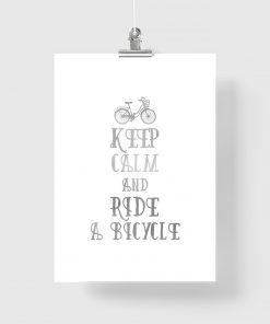 keep calm na plakacie