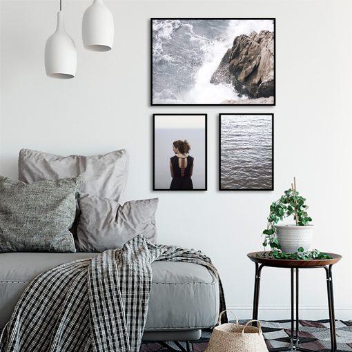 Zestaw plakatów do dekoracji sypialni