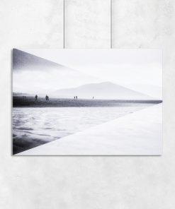 Plakat z motywem plaży
