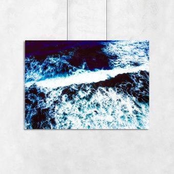 Plakat z morskim motywem