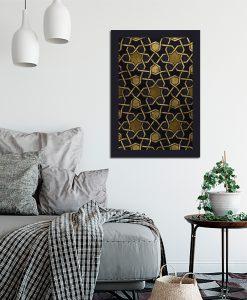 Mozaikowy plakat do salonu
