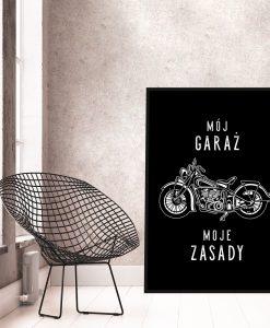 Plakat do garażu