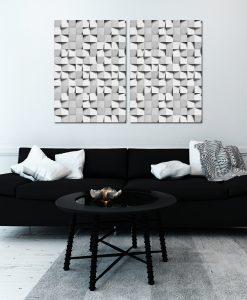 Plakat z motywem abstrakcyjnym do salonu