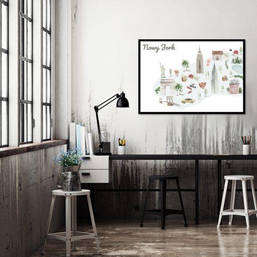 Plakat na ścianę do biura