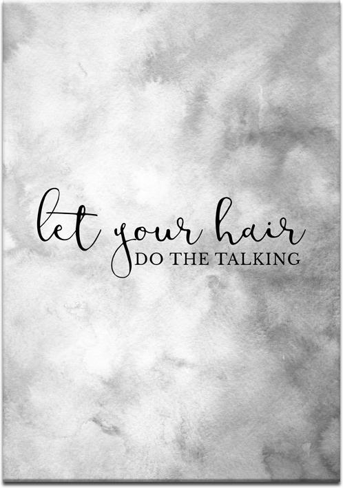 Plakat dla fryzjerów